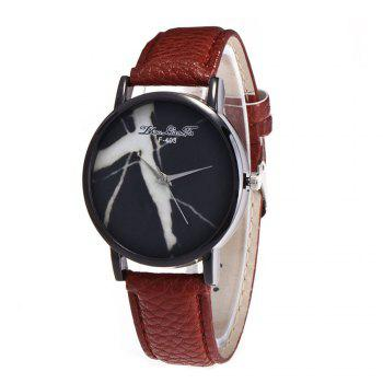 Zhou Lianfa Fashion Trend High-End 100 Watches - COFFEE BROWN COFFEE BROWN
