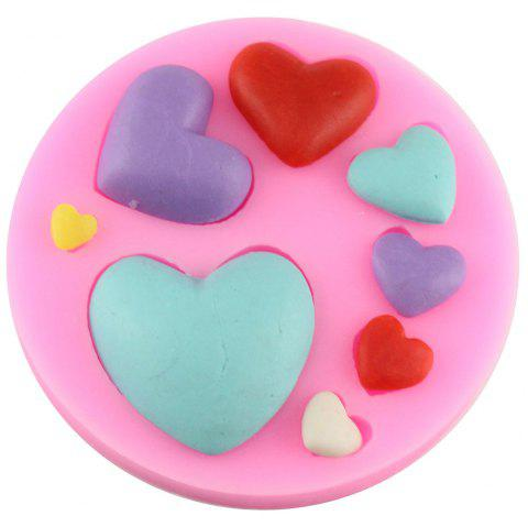 Love Series of Chocolate Chocolate Cake Fondant Mold - PINK