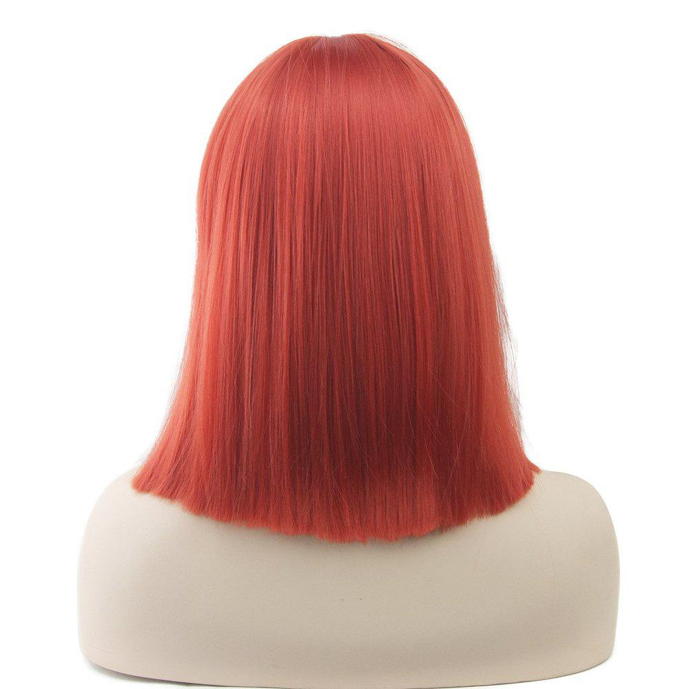 Colorful Hair BoBo Cospoay Wig - RED