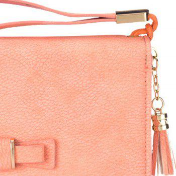Baellerry Creative Long Butterfly Purse Zipper  Large Capacity Bowknot Wallet Hand Bag - PINK
