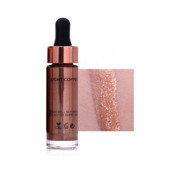 OTWOO Liquid Highlighter Make Up Concealer Shimmer Face Glow Ultra-concentrated Illuminating Bronzing - 6