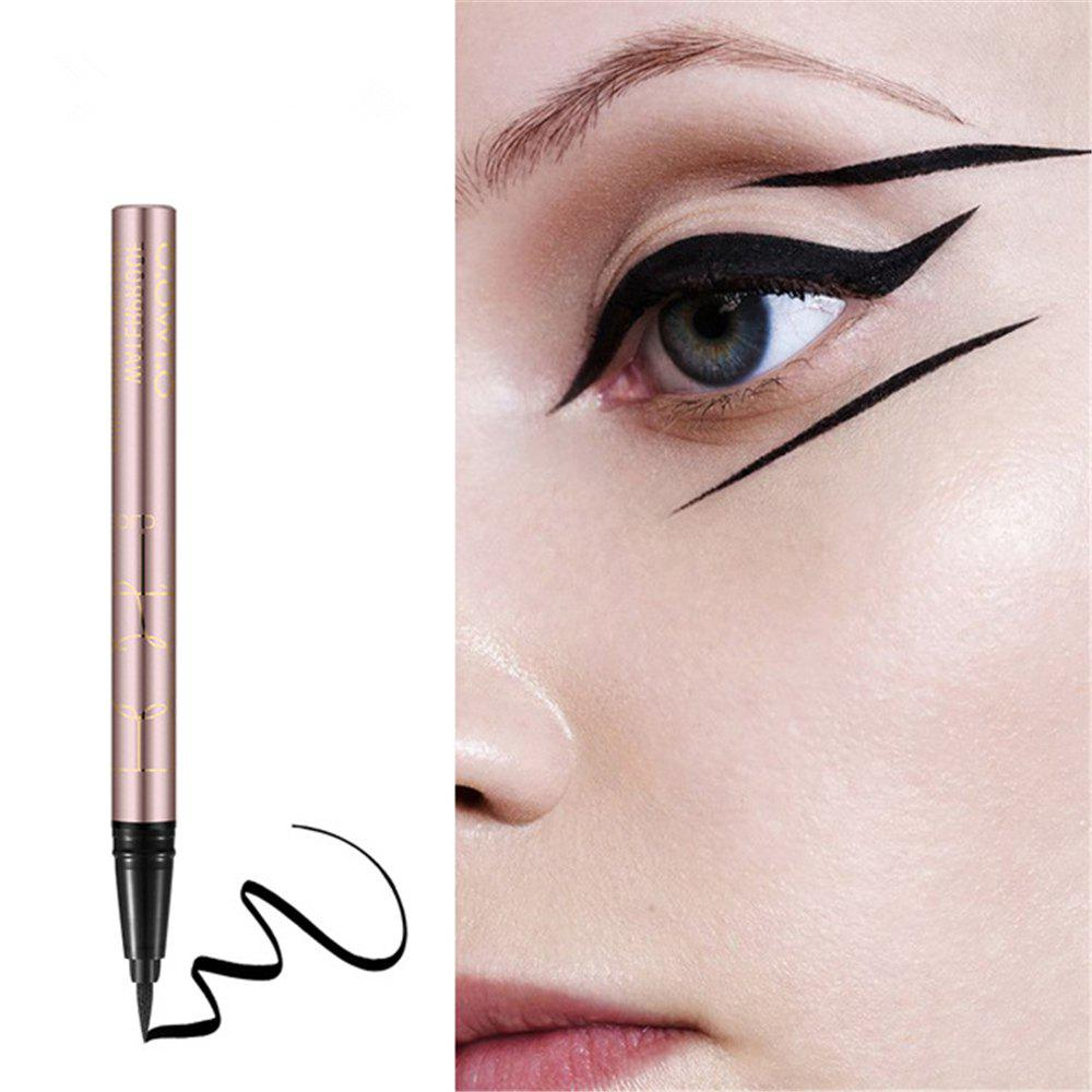 OTWOO New Beauty Cat Style Black Long-lasting Waterproof Liquid Eyeliner Eye Liner Pen Pencil Makeup Cosmetic Tool new eye massage stick eyes wrinkle removing pen black eye massage instrument vibration beauty pen mini portable beauty face care