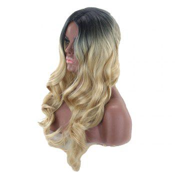 Ladies Long Roll Wigs - LIGHT GOLD