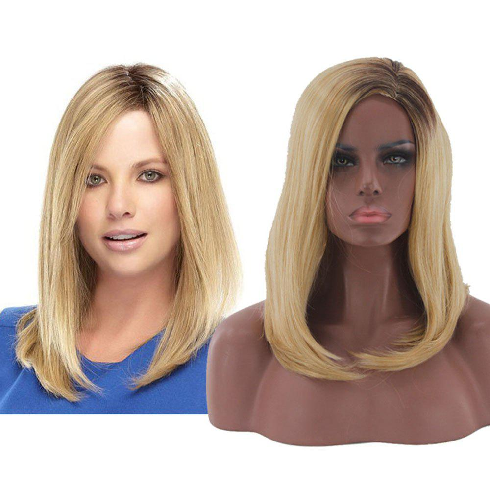 Ladies Bobo Head Cosplay Wig - FLAXEN