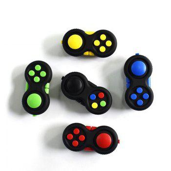 Funny Tool Fidget Pad Original Puzzles Fidget Cube Magic Toy for Birthday Gift Toys for Hobbies - YELLOW