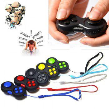 Funny Tool Fidget Pad Original Puzzles Fidget Cube Magic Toy for Birthday Gift Toys for Hobbies - BLUE