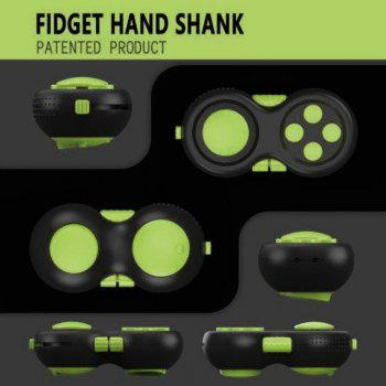Funny Tool Fidget Pad Original Puzzles Fidget Cube Magic Toy for Birthday Gift Toys for Hobbies - GREEN