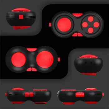 Funny Tool Fidget Pad Original Puzzles Fidget Cube Magic Toy for Birthday Gift Toys for Hobbies -  RED