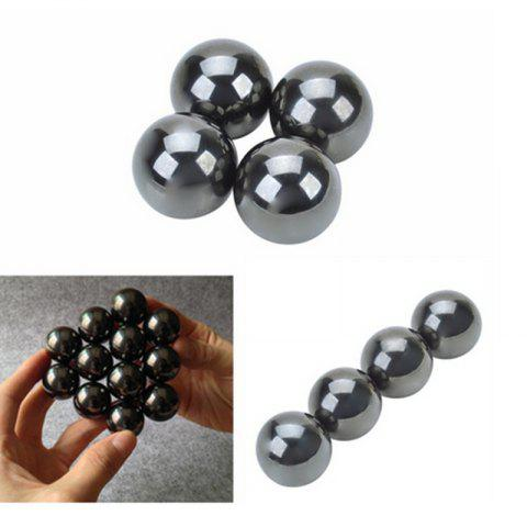 Tool 4Pcs Magnetic Balls Fidget Cube Spinner Hand Big Beads Skam Polymorph - AS THE PICTURE 6