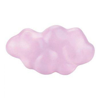 Jumbo Squishy Slow Rising Stress Relief Toy Made By Enviromental PU Replica Clouds - PINK
