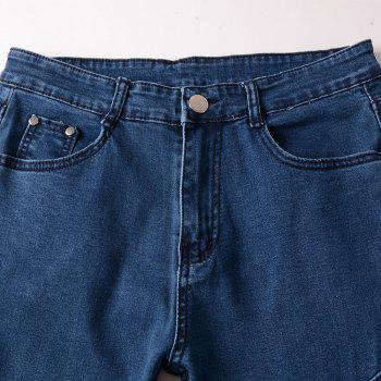 Spell Hole Trend Jeans - BLUE 38