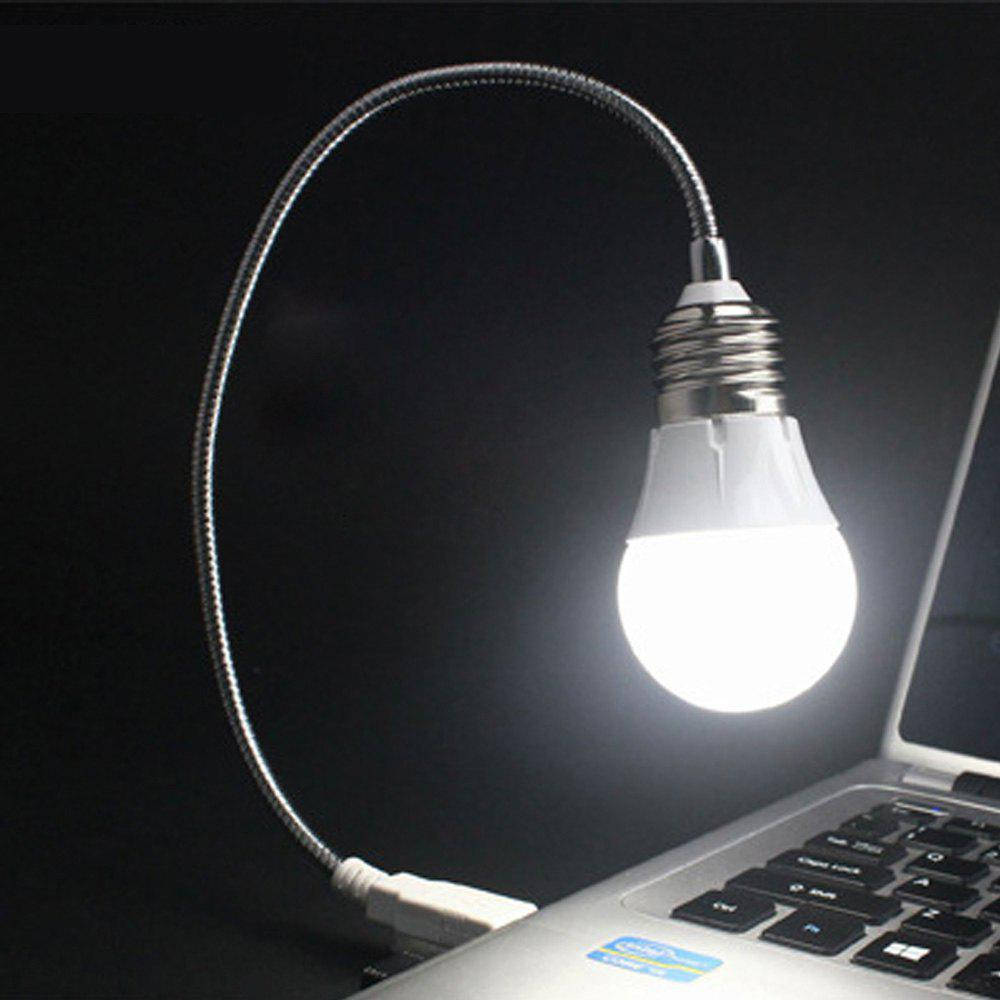Simple Retro LED Bulb With USB Energy Saving Lamp - WHITE 42X4.5X6CM