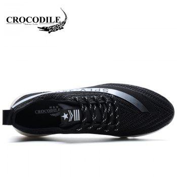 CROCODILE Male Movement Wear Non-Slip Loafers WFX00372016 - BLACK 38