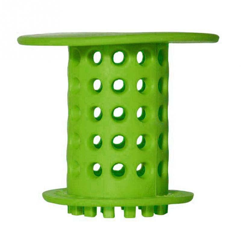 Bathtub Strainer-Hair Catcher - GREEN