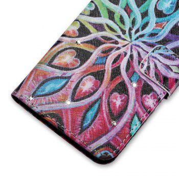 Cover Case for Sony XA Colourful Pattern Leather with Water Drill - ROSE RED