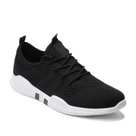 New Spring Breathable Athletic Shoes For Men - BLACK 42