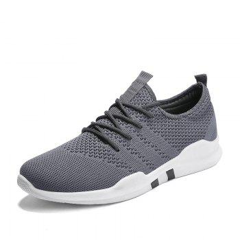 New Spring Breathable Athletic Shoes For Men - GRAY GRAY