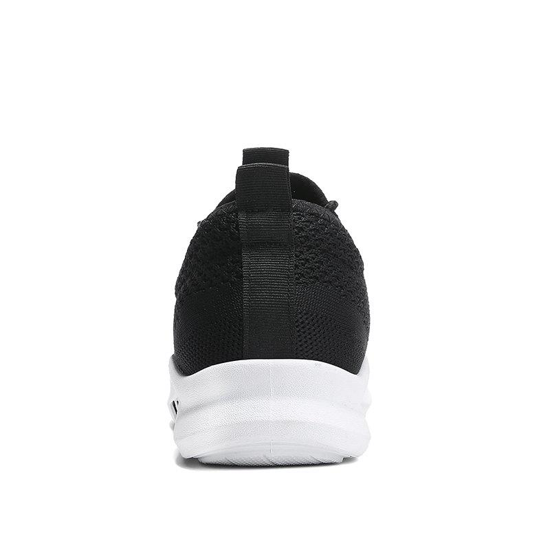 New Spring Breathable Athletic Shoes For Men - BLACK 44