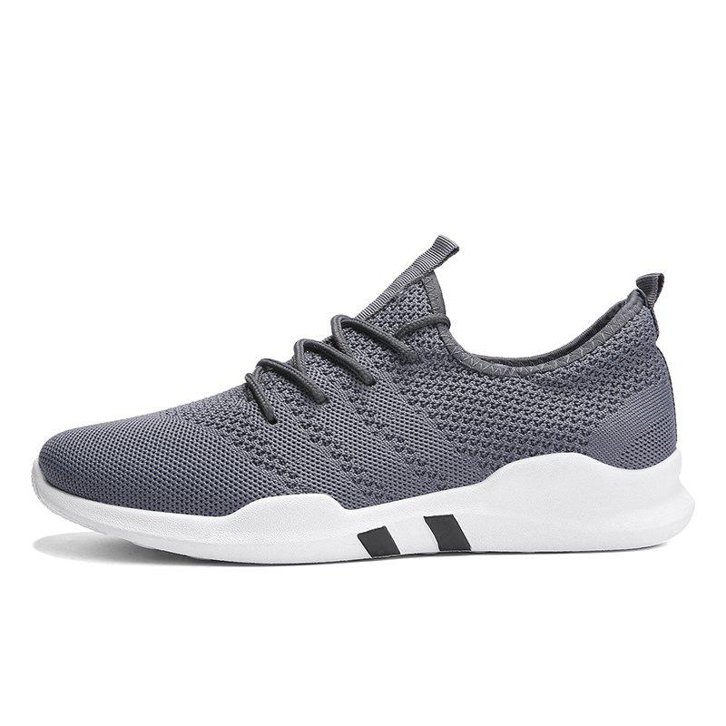 New Spring Breathable Athletic Shoes For Men - GRAY 40