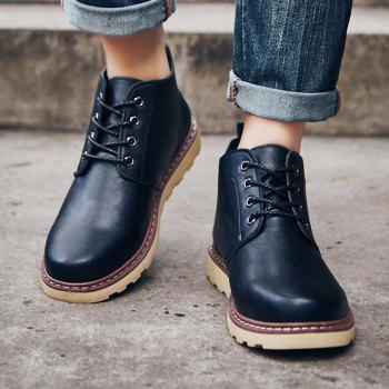 Fashion Worker Martin Boots - BLACK 39