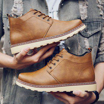 Fashion Worker Martin Boots - YELLOW 40