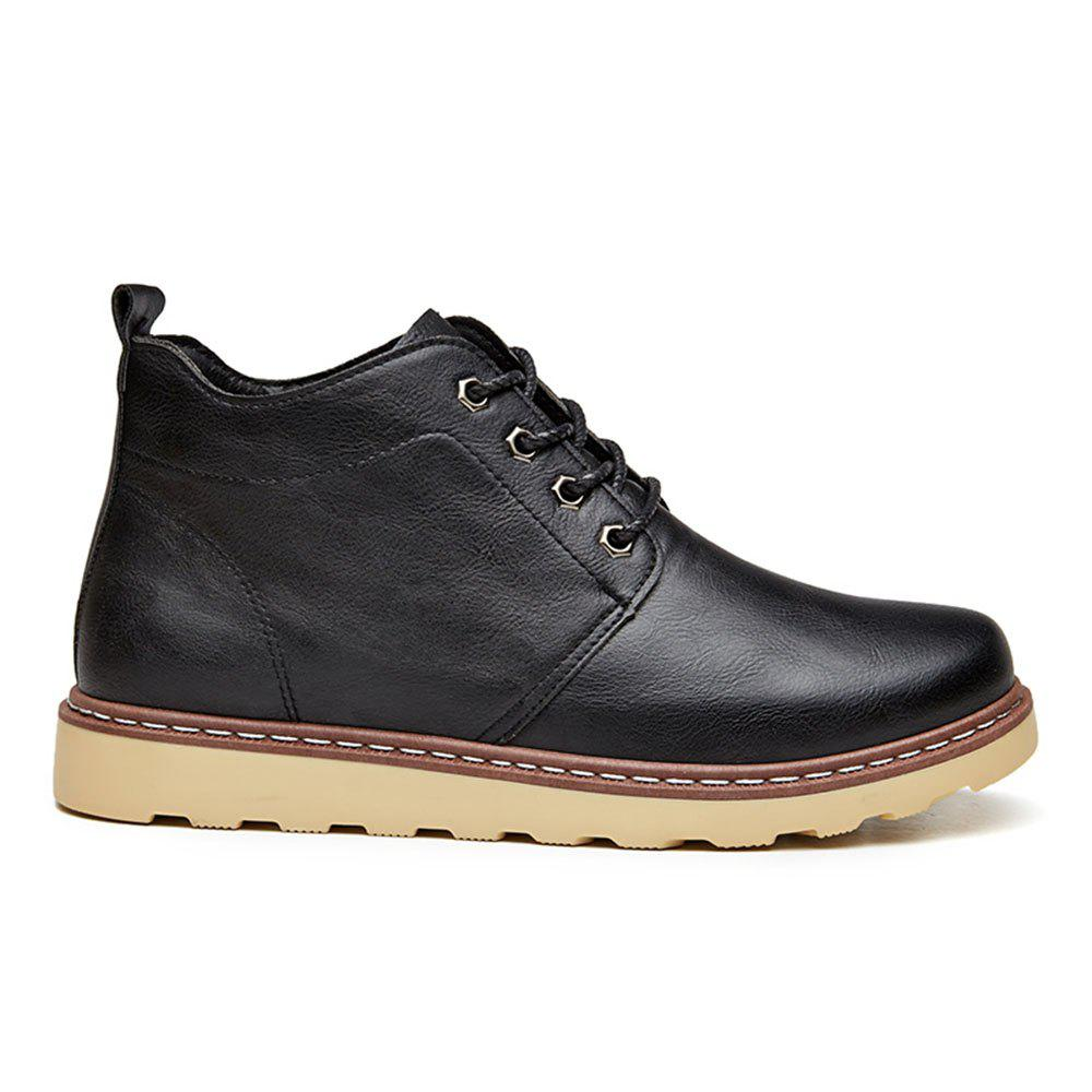 Fashion Worker Martin Boots - BLACK 44