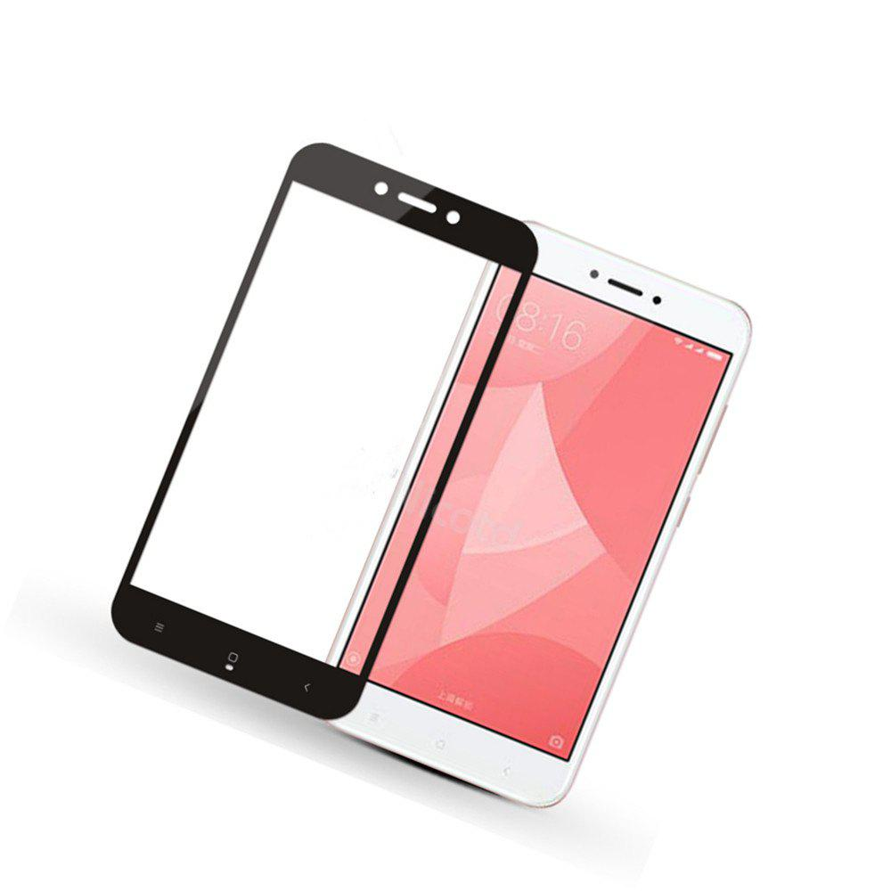 Full-screen Toughened Glass Film 5.0 Inch Black for Xiaomi Redmi 4X - BLACK