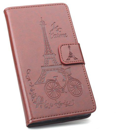 Flip Case for Nokia 2 Phone Wallet Leather MobiLe Phone Holster Case - BROWN