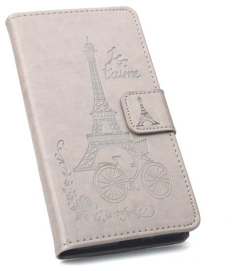 Flip Case for Nokia 2 Phone Wallet Leather MobiLe Phone Holster Case - GRAY
