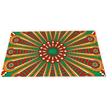 Colourful European Style Retro Pattern Mat - COLORMIX COLORMIX