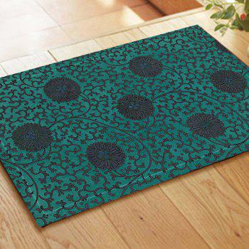 Retro Pattern Chinese Style Embroidered Carpet Mats - COLORMIX COLORMIX