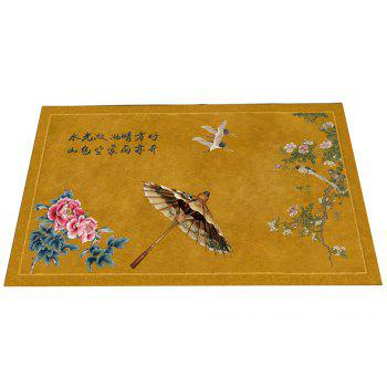 Chinese Wind Ink Landscape Carpet Pads Doormats - COLORMIX 40CM*60CM