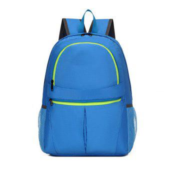 Men's Backpack Brief Large Capacity Multifunctional Outdoor Travel Bag - BLUE BLUE