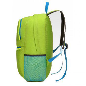 Men's Backpack Brief Large Capacity Multifunctional Outdoor Travel Bag - GREEN