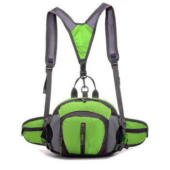 Men's Backpack Brief Large Capacity Multifunctional Travel Bag - GREEN GREEN