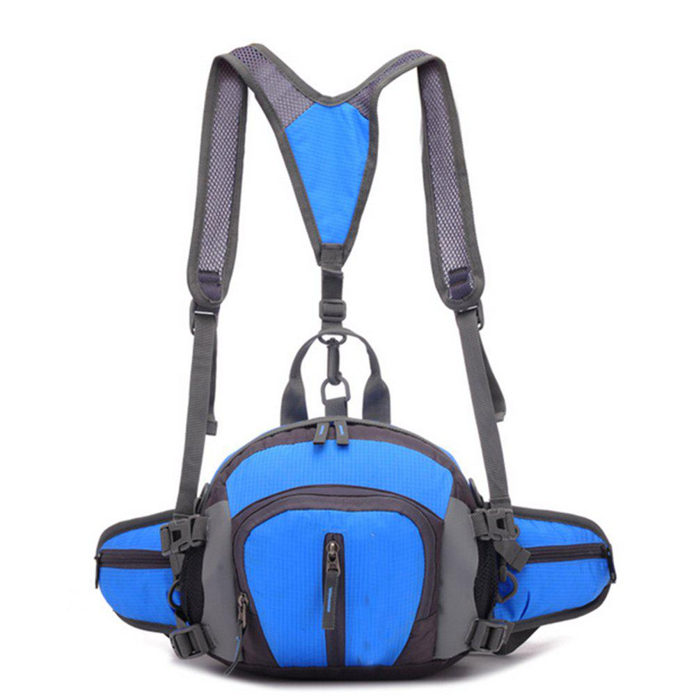 Men's Backpack Brief Large Capacity Multifunctional Travel Bag - BLUE