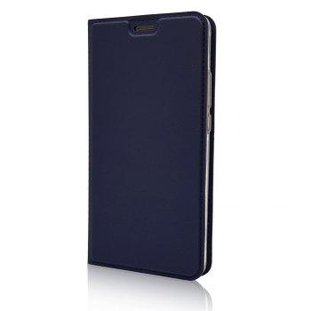 Leather Flip Case for Huawei Mate 10 Wallet Funda Book Cover -  BLUE