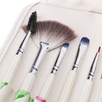 12 Piece Traditional Brush Set - WHITE 24 X 15 X 2