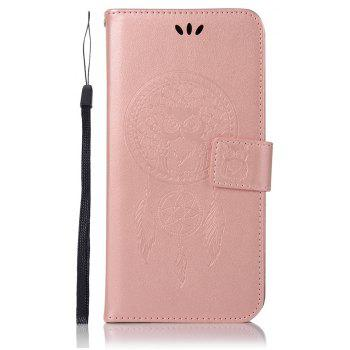 Owl Campanula Fashion Wallet Cover For Huawei Mate10 Pro Case PU Luxury Retro Flip Leather Case Phone Bag With Stand - ROSE GOLD