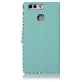 Owl Campanula Fashion Wallet Cover For Huawei P9 Case PU Luxury Retro Flip Leather Case Phone Bag With Stand - IVY