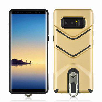 Kickstand Shock Proof Case For Samsung Galaxy Note8 Case Luxury Back Cases Cover - GOLDEN GOLDEN