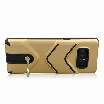 Kickstand Shock Proof Case For Samsung Galaxy Note8 Case Luxury Back Cases Cover -  GOLDEN