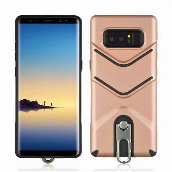 Kickstand Shock Proof Case For Samsung Galaxy Note8 Case Luxury Back Cases Cover - ROSE GOLD ROSE GOLD