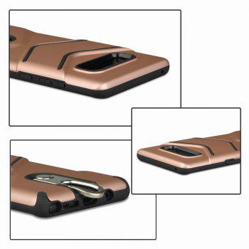 Kickstand Shock Proof Case For Samsung Galaxy Note8 Case Luxury Back Cases Cover -  ROSE GOLD