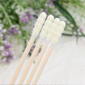 City Shop NCS078 Colorful Double-headed Cotton Swabs - YELLOW