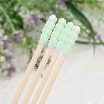 City Shop NCS078 Colorful Double-headed Cotton Swabs - GREEN