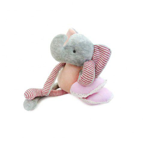 Pink Baby Cotton Cloth Elephant Dolls - PINK 32CM / 12.6 INCH