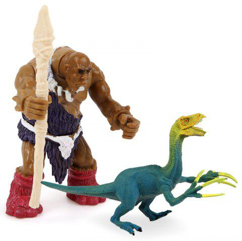 Wild Man War Sickle Dragon Plastic Model Toy - COLORMIX
