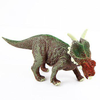 Dinosaur Forest Plastic Model Toy A -  COLORMIX