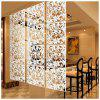 4Pcs Hanging  Set European Style Divider Safety Hanging Screens Panel - BLACK
